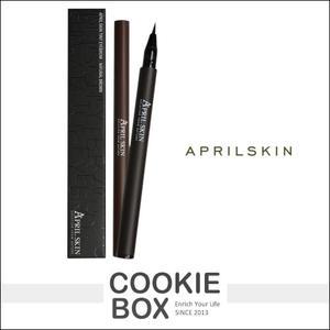 【即期品】韓國 April Skin 魔法 染眉膠 0.8ml 眉筆 深棕 *餅乾盒子*
