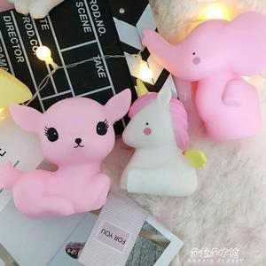ins創意動物卡通小夜燈星星造型節能喂奶燈兒童臥室led床頭燈  朵拉朵衣櫥