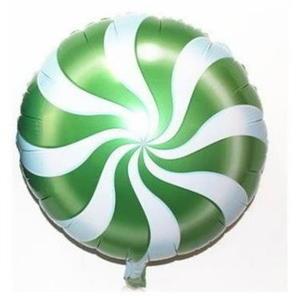 綠色棒棒糖氣球(未充氣)~~求婚道具/婚禮 生日 耶誕節 尾牙佈置