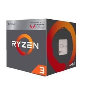 全新 AMD Ryzen R5-3400G 處理器(四核八緒/AM4/內含風扇/VEGA 11)  盒裝三年保固