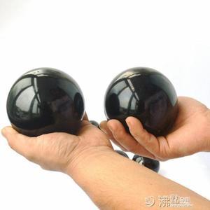 煮黑鋼球實心球不生銹不怕摔保定鐵球手握健身球手球保健球 沸點奇跡