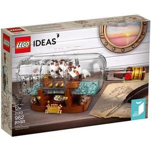 樂高積木 21313 創意系列 瓶中船 海盜船 ( LEGO IDEAS )