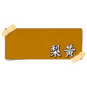 【漆寶】虹牌油性水泥漆 628梨黃 (1公升裝)