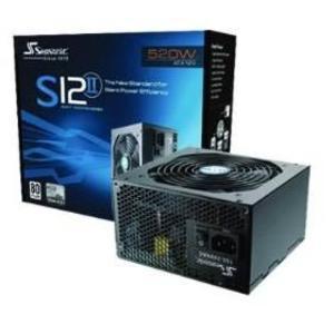 海韻S12II 520W電源供應器 80+銅牌認證 / PWSS12II520W