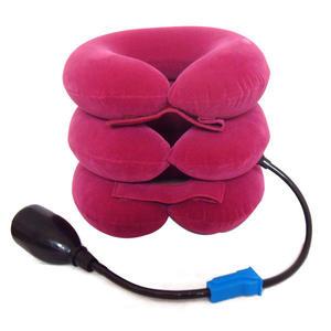 億福三層全絨頸椎牽引器家用充氣頸托頸椎枕護頸【全館免運八五折】