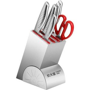 刀具套裝廚房家用菜刀組合全套不銹鋼套刀切片刀砍骨刀廚具ATF 三角衣櫃