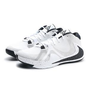 NIKE 籃球鞋 ZOOM FREAK 1 EP 字母哥 白黑 OREO 男 (布魯克林) BQ5423-101