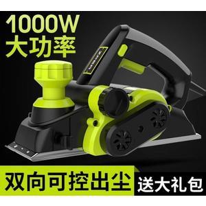 電刨 電刨小型家用多功能木工刨木工工具電動手提臺式刨子壓刨刀機