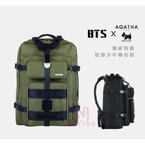 光華商場。包你個頭【Agatha】15.6吋 獨家特賣 防彈少年 BTS & Agatha 聯名款 後背包