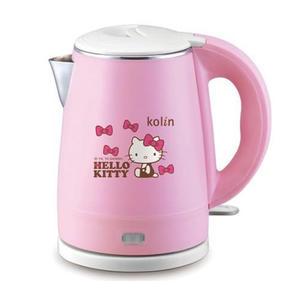 【震撼精品百貨】Hello Kitty 凱蒂貓~歌林 Kolin Hello Kitty 雙層不鏽鋼快煮壺
