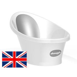 【英國Shnuggle】月亮澡盆(台灣總代理公司貨),一個人輕鬆幫寶寶洗澡 時尚灰