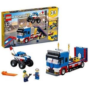 LEGO 樂高 Creator 3in1 Mobile Stunt Show 31085 Building Kit (580 Piece)