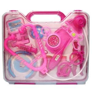 寶寶醫護組 650E 手提箱護士醫生遊戲玩具組/一個入{促180} 附聽診器 手提醫生組~創650E