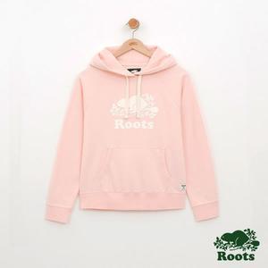 Roots-女裝-Roots經典帽T - 粉色