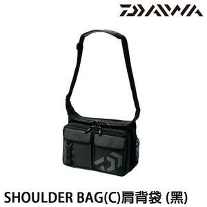 漁拓釣具 DAIWA SHOULDER BAG 黑 (肩背袋)