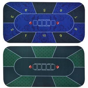 長方形正規德州撲克橡膠墊桌布臺布桌墊台泥遊戲布絨布佳績布DF