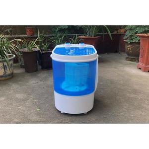 迷你小型洗衣機單筒桶宿舍半全自動洗脫一體嬰兒童微型脫水帶甩乾  艾維朵  DF