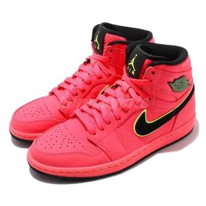 Nike Wmns Air Jordan 1 Retro High Premium Hot Punch 紅 黑 喬丹1代 女鞋【PUMP306】 AQ9131-600