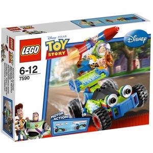 樂高積木 7590 玩具總動員 胡迪和巴斯光年的拯救行動 回力車 ( LEGO Toy Story )