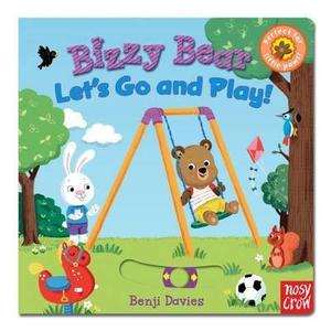 【Bizzy Bear 可愛操作書】BIZZY BEAR: LET'S GO AND PLAY / 硬頁書