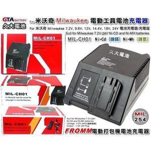 ✚久大電池❚ Fromm  ELIDA 打包機電池充電器 12V 14.4V 18V 鎳鎘 鎳氫 110V~240V