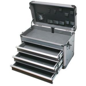 Pro'sKit 寶工 TC-755 深灰重型鋁質工具箱(三抽屜)