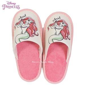 日本限定 迪士尼 迪士尼公主系列 小美人魚 愛麗兒 室內拖鞋