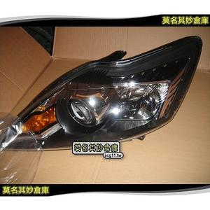 莫名其妙倉庫 【原廠 燻黑大燈 】Ford 福特 09-11 年 燻黑頭燈 Focus ST RS TDCi 燻黑魚眼大燈 轉向頭燈
