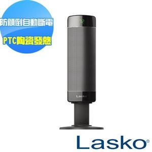 福利品出清【美國Lasko】BlackShark黑俠客 兩段式加熱流線型陶瓷恆溫電暖器 CS27600TW