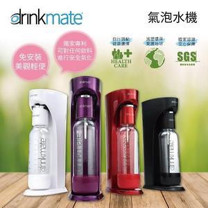 【好禮首選+24期0利率】DRINKMATE 美國 氣泡水機1L+0.5L水瓶+CO2瓶 Rhino410 犀牛機