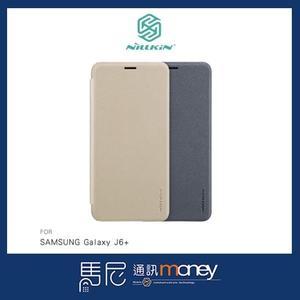 NILLKIN 星韵皮套/SAMSUNG Galaxy J6+/手機殼/智能皮套/散熱設計/書本皮套/保護皮套【馬尼】