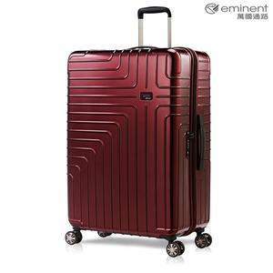 eminent【伊洛絲】極輕絕美鏡面PC行李箱 28吋(金屬紅)KG93