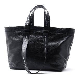 ■現貨在台■專櫃7折■Balenciaga 巴黎世家 全新真品 Carry Shopper S 小羊皮 (IKEA致敬款) 購物袋 鉛筆灰
