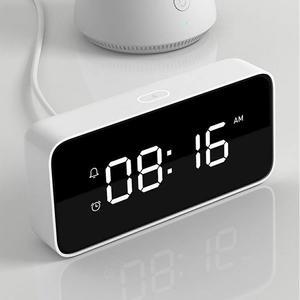 新款小米小愛智能鬧鐘創意學生床頭數字時鐘兒童鬧鈴多功能電子鐘
