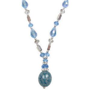 原創飾品柔情似水瑪瑙水晶項鏈