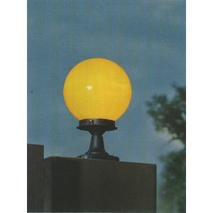 【燈王的店】8吋庭園燈 戶外燈 柱台燈 黃球/白球 ☆ OD3012-8