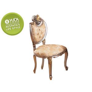 餐椅【YUDA】 公主風 法式 羅登 香檳色 手工彩繪 餐椅/休閒椅/書桌椅 J8F 481-1