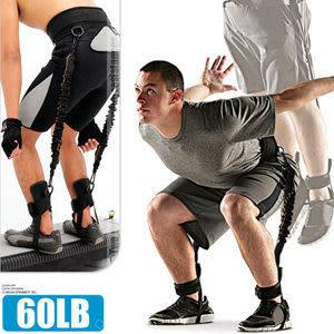 腳踝彈力帶│60磅LATEX乳膠彈跳訓練帶(綁腿彈力繩+舉重腰帶)拉力繩拉力帶.臂力器.推薦