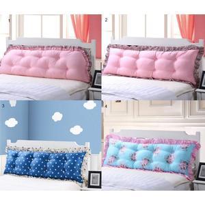 韓版全棉雙人床頭大靠墊軟包 雙人床軟靠包 沙發靠背墊-ley70015