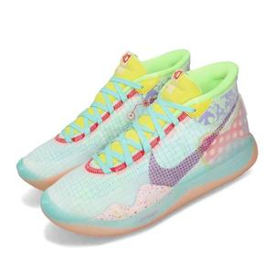 Nike 籃球鞋 Zoom KD12 NRG EP Peach Jam 彩色 男鞋 運動鞋 Kevin Durant 【PUMP306】 CK1197-300