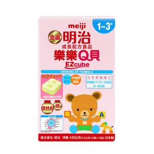 明治 樂樂Q貝 EZCUBE 方塊奶粉 1-3歲 (5.6G*5個*16袋/盒) 大樹