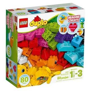 LEGO 樂高 My First Bricks 10848 (80 Piece), Multicolor