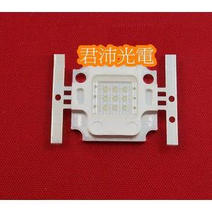 diy led燈珠 批發館10入起定每入184 10W 藍光 LED/10W 方形 藍光/高亮度
