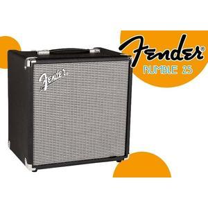 【小麥老師 樂器館】Fender Rumble 25 V3 貝斯音箱 電貝斯