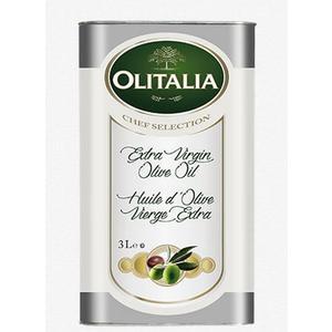 Olitalia奧利塔第一道頂級Extra Virgin冷壓初榨橄欖油3L(鐵桶裝)