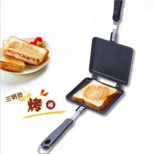 燃氣式三明治面包模具雙面煎鍋吐司模具烤盤