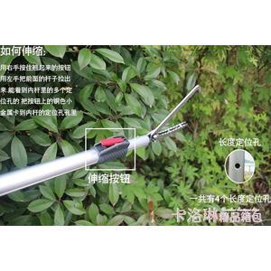 伸縮捕黃鱔夾鋁合金蛇鉤鉗防蛇工具卡鎖抓蛇鉤捉泥鰍勾器1.5米 MKS免運