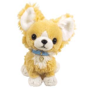 日本PUPS可愛玩偶 吉娃娃米色仿真娃娃 絨毛娃娃公仔毛絨玩具狗聖誕節禮物生日禮物小孩送禮