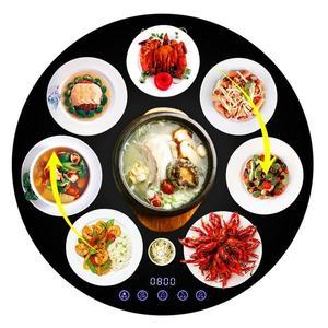 保溫板 圓形飯菜保溫板家用熱菜板保溫板保溫餐桌飯菜加熱板暖菜板 JD下標免運