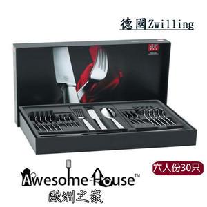 德國Zwilling雙人牌 HELIA 30件 餐具組 禮盒組 07017-307-030